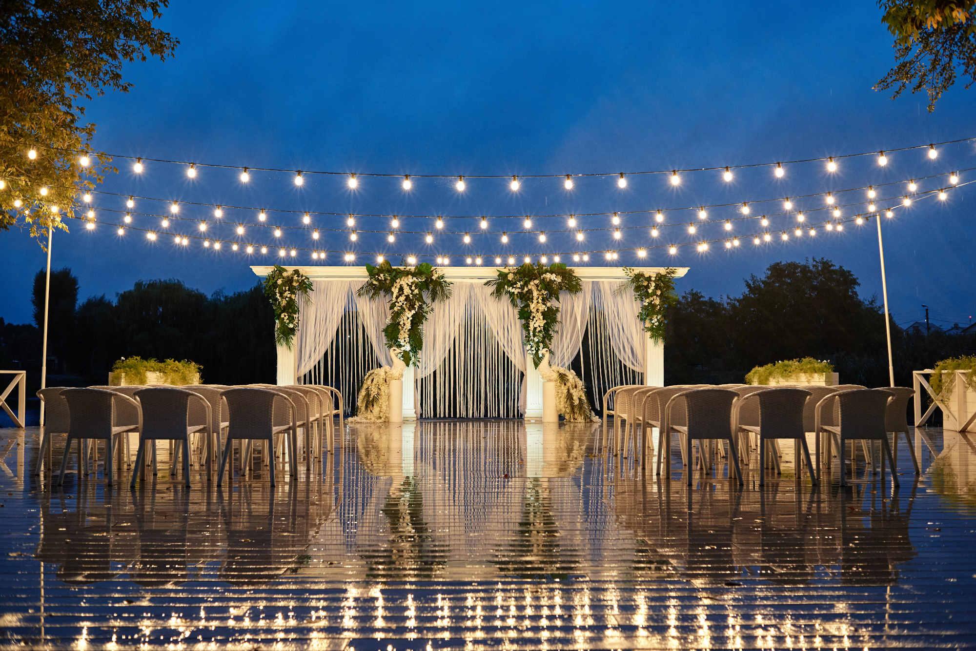 Nagłośnienie i oświetlenie ślubów plenerowych